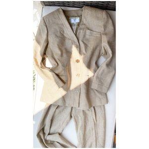 SALE 🔥 Valentino 1990's Tweed Two Piece Suit